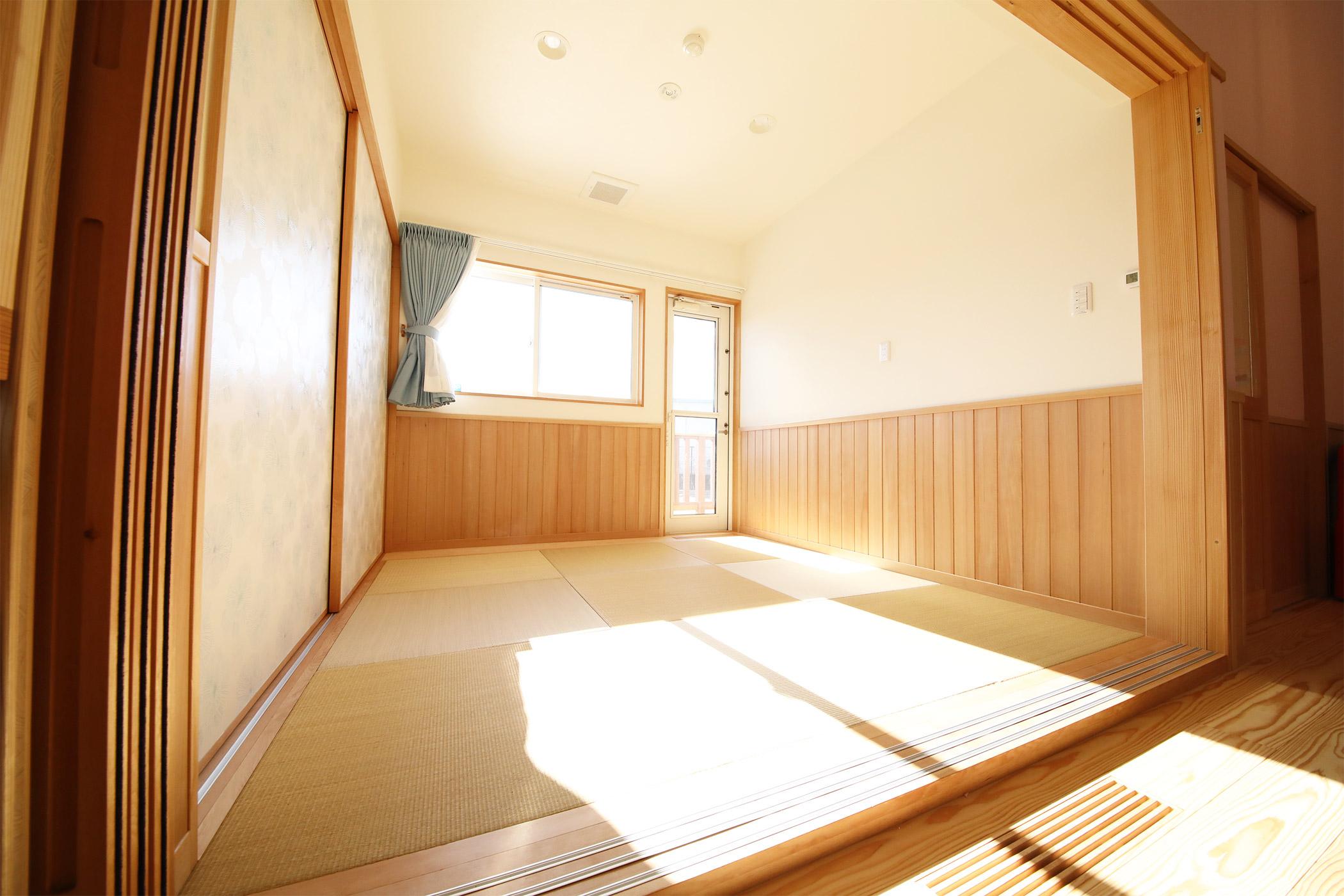 畳の部屋もあります